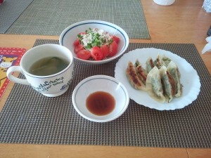 障害福祉サービス西明石事業所 夕食
