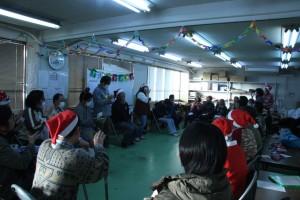 障害福祉サービス明石事業所/クリスマス会