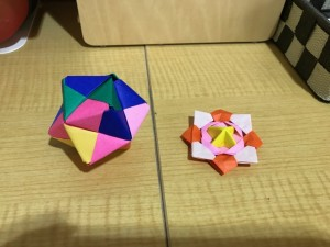 障害福祉サービス舞子事業所/折り紙 コマ