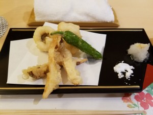 障害福祉サービス明石事業所/松茸の天ぷら